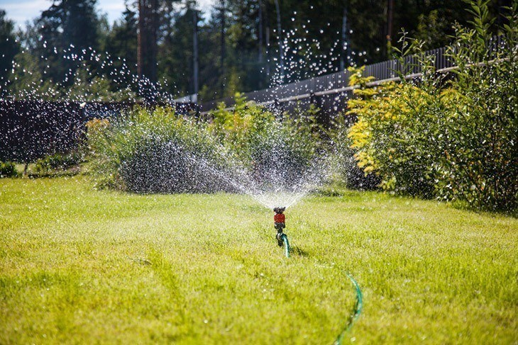 sprinkler-garden-watering-lawn-How-Long-Does-it-Take-to-Grow-Grass