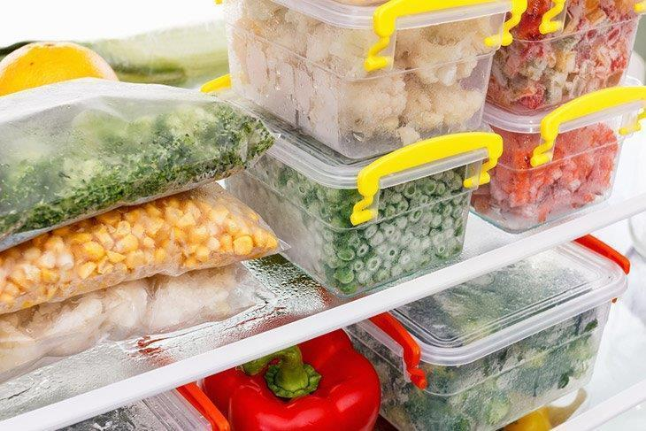 Frozen Food Refrigerator
