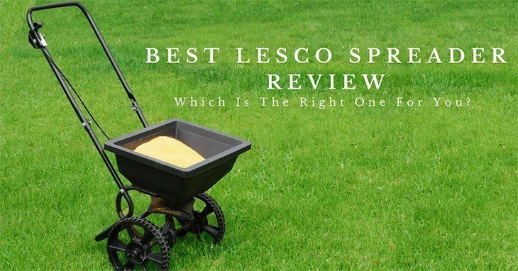 Lesco High Wheel Fertilizer Spreader With Manual Deflector Review Features Benefits Pros And Cons