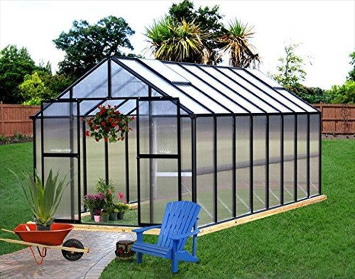 Monticello-Greenhouse-16FT-Black-Polycarbonate-Greenhouse-Reviews