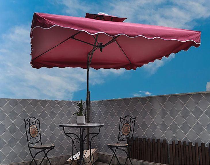 Tylor S Garden 8 1 2ft Cantilever Outdoor Patio Umbrella