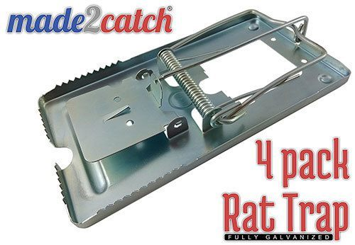 Made2catch Classic Metal Rat-best-mouse-trap