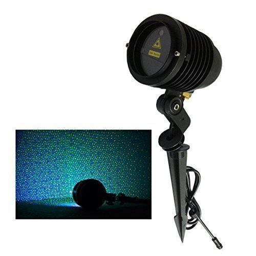 Remote Controllable RGB Laser Outdoor Garden Landscape Light