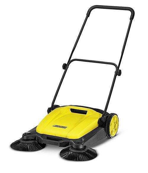 Karcher-Outdoor-Push-Sweeper,-Patio-&-Driveway-Cleaner