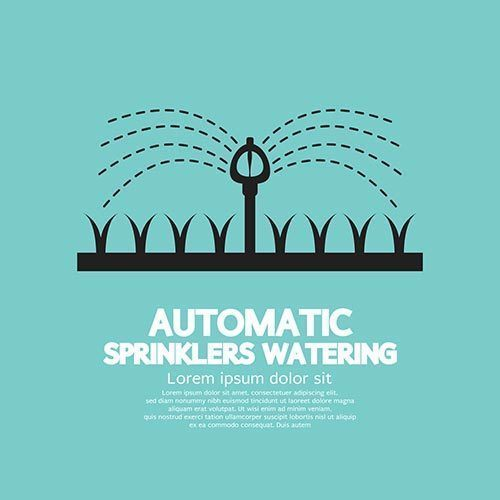 Automatic Sprinklers Watering