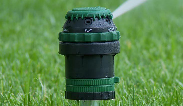 Gear-Driven Sprinkler Heads