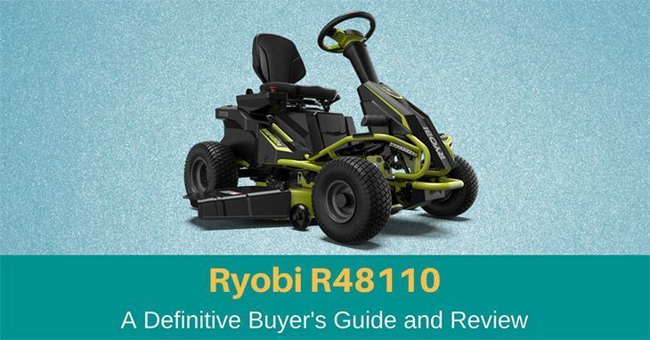 Ryobi R48110 Electric Riding Lawn Mower Review 2019 Full