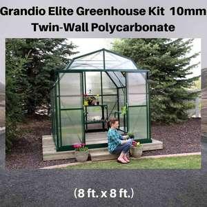 Grandio-Elite-8x8-Greenhouse-Kit-10mm-Twin-Wall-Polycarbonate