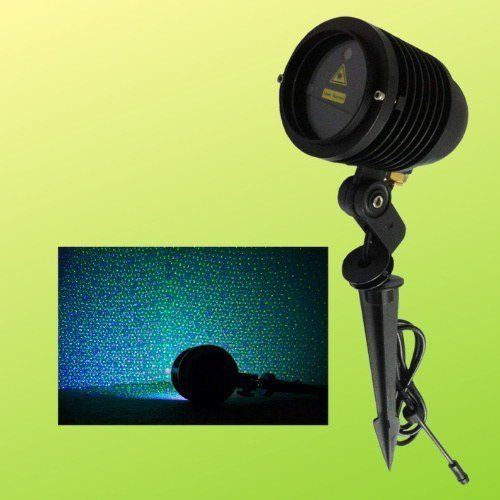 Remote Controllable RGB Laser Outdoor Garden Landscape Light Red, Green and Blue