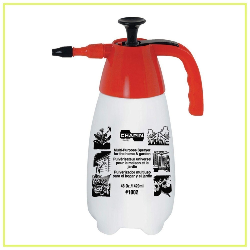 Chapin 1002 48-Ounce Hand Sprayer for Multi-Purpose Use, 48-Ounce