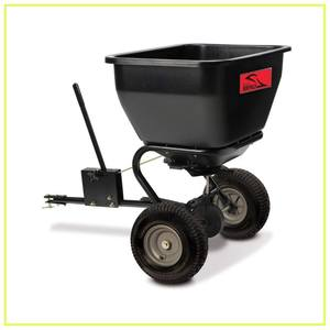 Brinly BS36BH Tow Behind Broadcast Spreader, 175-Pound