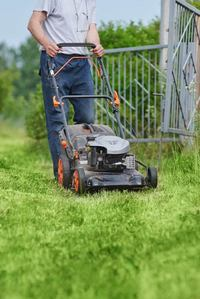 Motorized lawn mowers and power tools