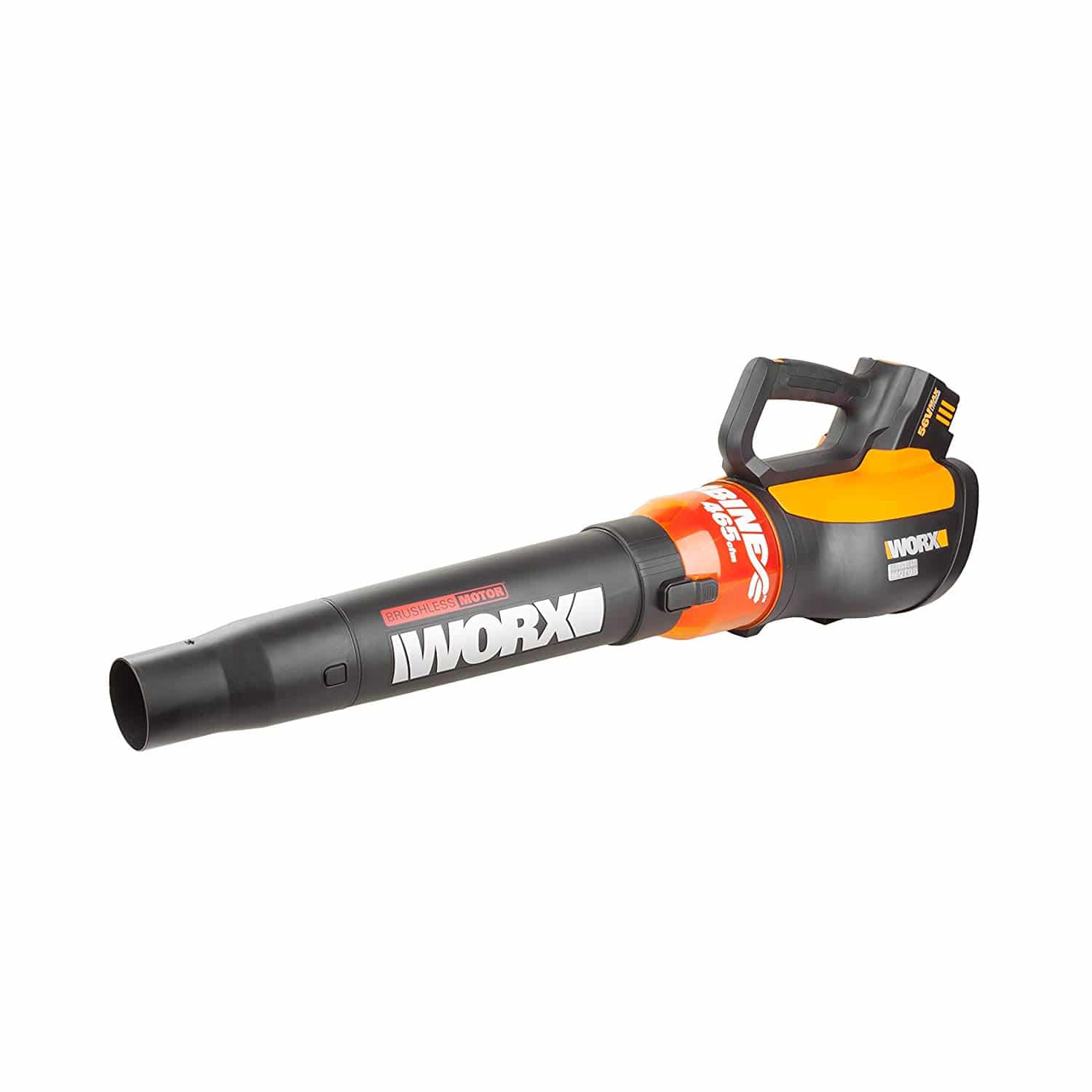 WORX WG591 Turbine 56V Cordless Battery-Powered Leaf Blower