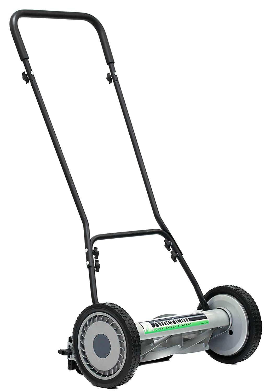 American Lawn Mower Company 1815-18 18-Inch, 5-Blade Push Reel Lawn Mower