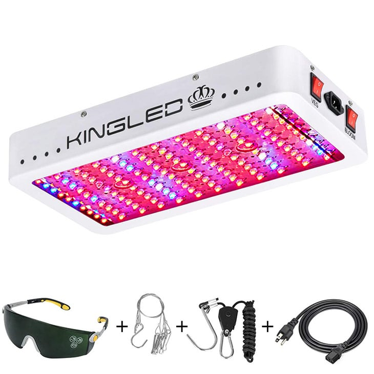 King-Plus-1200w-LED-Grow-Light-(Dual-chip-10w-LEDs)