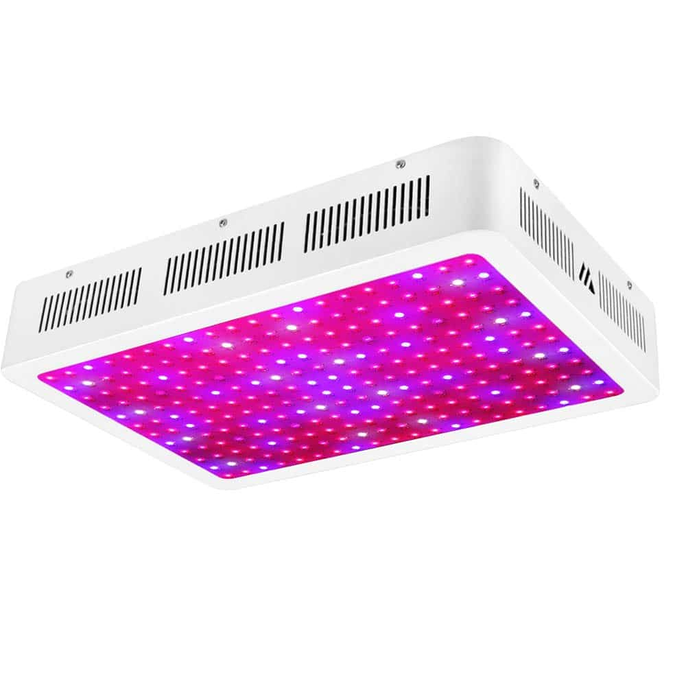 Morsen 2400W LED Grow Light 2 Dimmer On Off Switch