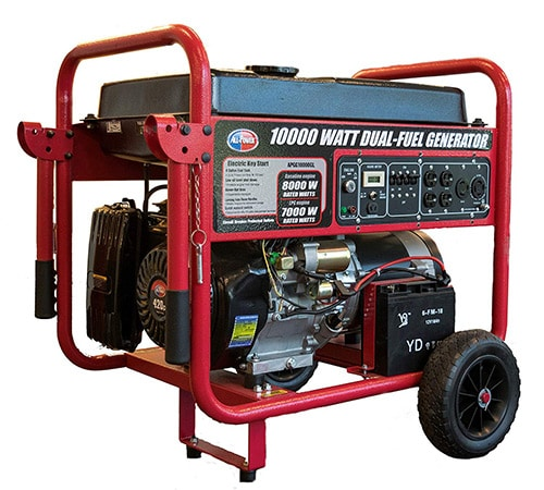 All Power America APGG10000GL Dual Fuel Portable Generator