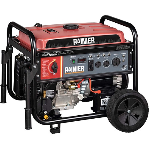 Rainier R12000DF Dual Fuel